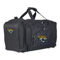 "NFL Jacksonville Jaguars ""Roadblock"" Duffel Bag by The Northwest in Black"