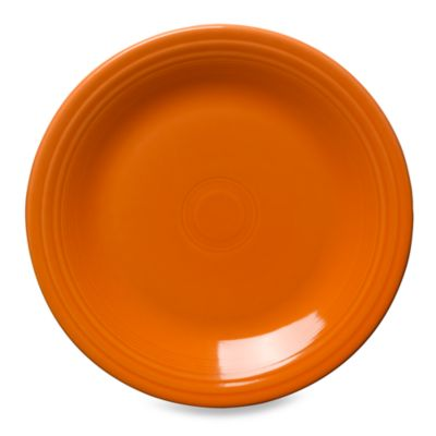 Fiesta® Dinner Plate in Tangerine  sc 1 st  Bed Bath \u0026 Beyond & Buy Orange Dinner Plates from Bed Bath \u0026 Beyond