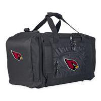 "NFL St. Louis Cardinals ""Roadblock"" Duffel Bag by The Northwest in Black"