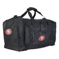 "NFL San Francisco 49ers ""Roadblock"" Duffel Bag by The Northwest in Black"