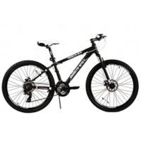 NBA Brooklyn Nets 26-Inch 430mm Mountain Bike with Disc Brakes in Black