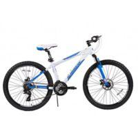 NBA Orlando Magic 26-Inch 430mm Mountain Bike with Disc Brakes in White/Blue