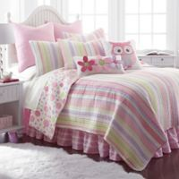 Levtex Home Mya Twin Reversible Quilt Set in Pink