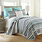 Levtex Home Petra Reversible Full/Queen Quilt in Grey