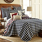 Levtex Home Lodge Reversible King Quilt Set in Navy/Red
