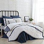 VCNY Home Farmhouse Audrey Full/Queen Comforter Set in White
