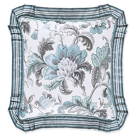 Decorative Pillows To The Trade : J. Queen New York Atrium 16-Inch Square Throw Pillow in Spa - Bed Bath & Beyond