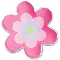 Levtex Home Mya Flower Pillow in Pink