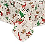 Elrene Magical Journey 60-Inch x 84-Inch Oblong Tablecloth