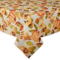 Harvest Medley 60-Inch x 84-Inch Oblong Tablecloth