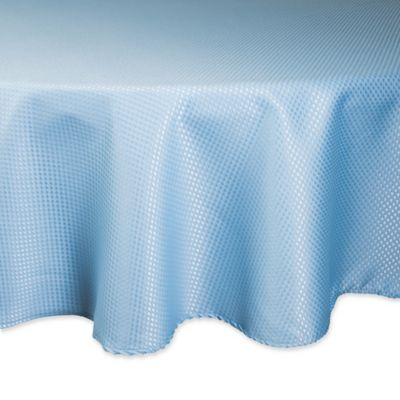 Delicieux Design Imports Elegant Bead 70 Inch Round Tablecloth In Light Blue