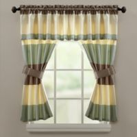 Croscill® Fairfax Window Valance in Taupe