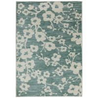Mohawk Home® Burbank Blossom 7-Foot 6-Inch x 10-Foot Area Rug in Teal