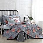 VCNY Home Farmhouse Katherine King Comforter Set in Grey