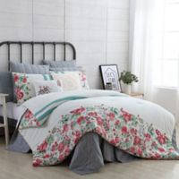 VCNY Home Farmhouse Martha Twin XL Comforter Set in White