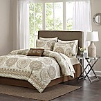 Madison Park Essentials Coronado King Comforter Set in Taupe