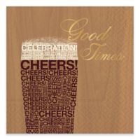 "Design Design 20-Count ""Good Times"" Beverage Napkin"