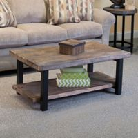 Pomona Metal and Reclaimed Wood 42-Inch Coffee Table