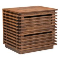 Zuo® Linea End Table in Walnut