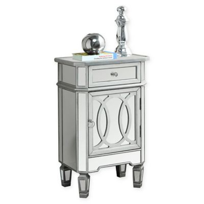 Accent Table In Silver