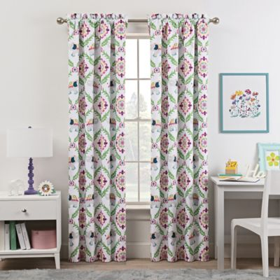 Room Decor Waverly Kids Bollywood 63 Inch Rod Pocket Darkening Window Curtain Panel