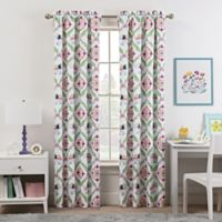 Waverly Kids Bollywood 84-Inch Rod Pocket Room Darkening Window Curtain Panel in Green