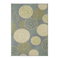 Mohawk Home Foliage Friends 7-Foot 6-Inch x 10-Foot Area Rug in Green