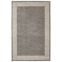 Mohawk Home Oceanus 7-Foot 6-Inch x 10-Foot Area Rug in Grey