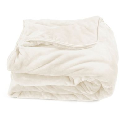 buy ivory blankets from bed bath & beyond