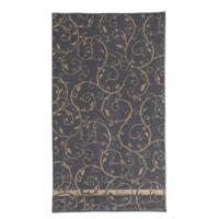 Loft by Loftex Como Wave Bath Towel in Stone/Charcoal
