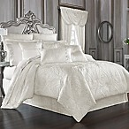 J. Queen New York™ Bianco Queen Comforter Set in White