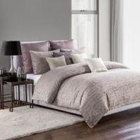 Highline Bedding Co. Driftwood Full/Queen Duvet Cover Set in Plum