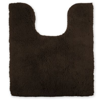 Wamsutta Ultra Soft Contour Bath Rug In Chocolate