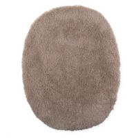 Wamsutta® Ultra Soft Elongated Toilet Lid Cover in Taupe