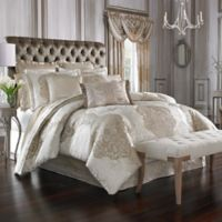 J. Queen New York™ La Scala Queen Comforter Set in Gold
