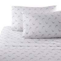 Panama Jack Dolphin 300-Thread Count Full Sheet Set in Grey