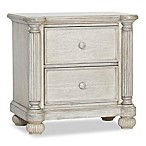 Kingsley Charleston Nightstand in Weathered White