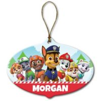 Paw Patrol Holiday Pups Ceramic Ornament