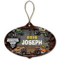 Monster Jam Grave Digger Stadium Ceramic Ornament