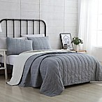 VCNY Home Faith Reversible Twin XL Quilt Set in Charcoal