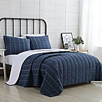 VCNY Home Faith Reversible Twin XL Quilt Set in Navy