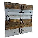 Sweet Bird & Co. Reclaimed Wood 30-Inch Clock in Whisper Blue