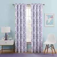 Waverly Kids Ipanema 84-Inch Rod Pocket Rom Darkening Window Curtain Panel in Lavender