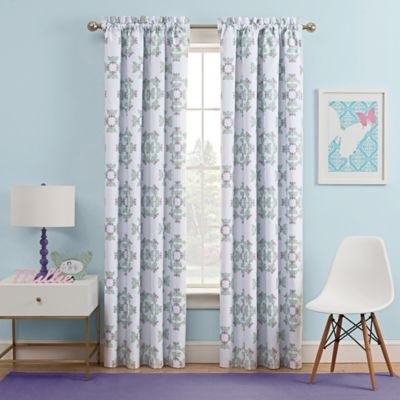 curtain room dividers for kids. Waverly Kids Ipanema 63 Inch Rod Pocket Rom Darkening Window Curtain Panel  in Aqua Buy Room Curtains from Bed Bath Beyond