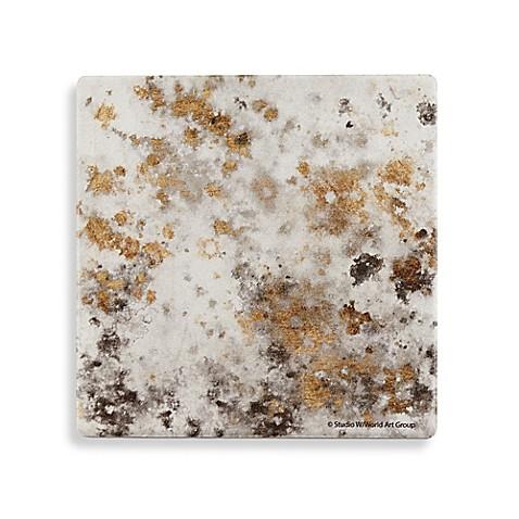 thirstystone gilded mist square single coaster bed bath beyond. Black Bedroom Furniture Sets. Home Design Ideas