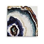Thirstystone® Up Close Agate Watercolor Square Single Coaster