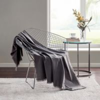 Highline Bedding Co. Sullivan Throw Blanket in Charcoal