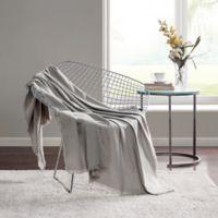 Highline Bedding Co. Sullivan Throw Blanket in Dove