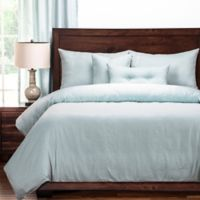 PoloGear Gateway Reversible Queen Duvet Cover Set in Sea Blue