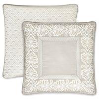 J. Queen New York™ Le Blanc European Pillow Sham in Silver